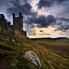 Dunstanburgh Castle - North Tower by David Lewins