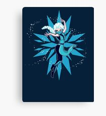 Frost Kombat!! Canvas Print