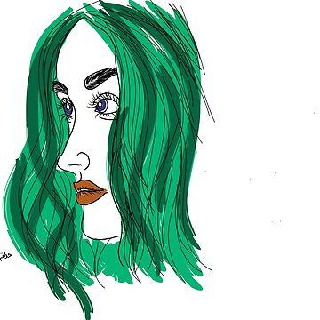 The Green Girl by Hadiqa