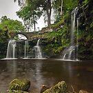 Lumb Hole Waterfall, Hebden Bridge by Steve  Liptrot