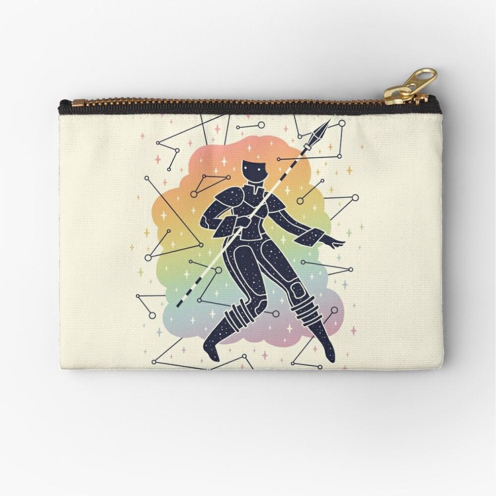 Rainbow Warrior Zipper Pouch