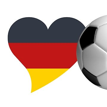 soccer football wm russia 2018 ball goal fan 11 meters away love heart germany flag german bayern löw by originalstar