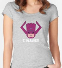 Galactus Hungers Women's Fitted Scoop T-Shirt