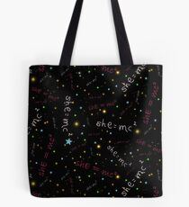 She = mc2 Tote Bag
