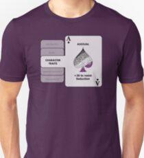 Asexual Character Bonus (Spade Symbol) T-Shirt