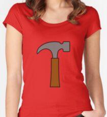 Hammer Tailliertes Rundhals-Shirt