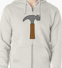 Hammer Hoodie mit Reißverschluss