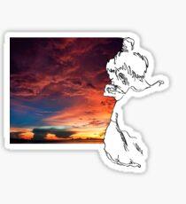 Miss the sun? Sticker