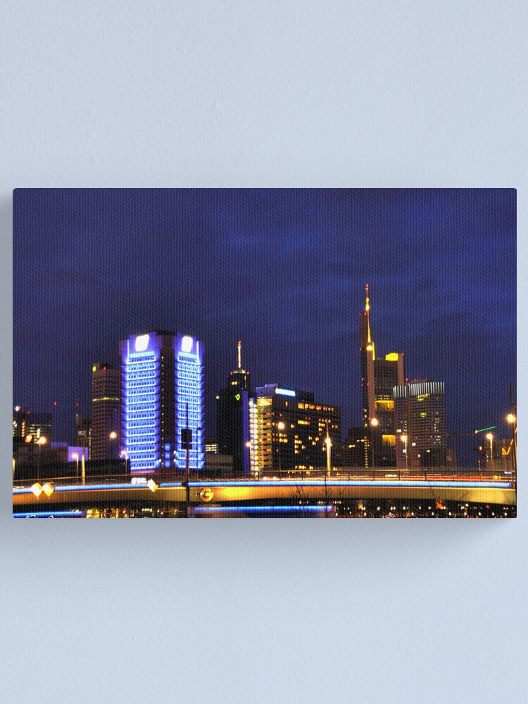 Alternate view of Frankfurt Skyline Canvas Print