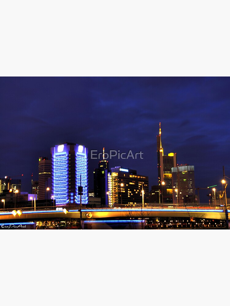 Frankfurt Skyline by EroPicArt
