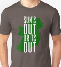Sun's Out, Brits Out Unisex T-Shirt