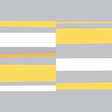 Mosaic Single 3 #abstract #minimalism #sabidussi #redbubble by MenegaSabidussi