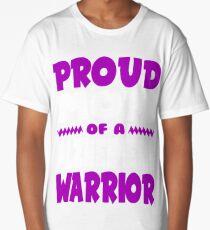 Proud Mom of a Alzheimers Warrior! END ALZ Awareness Long T-Shirt