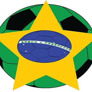 Brazil Soccer by Trendy13