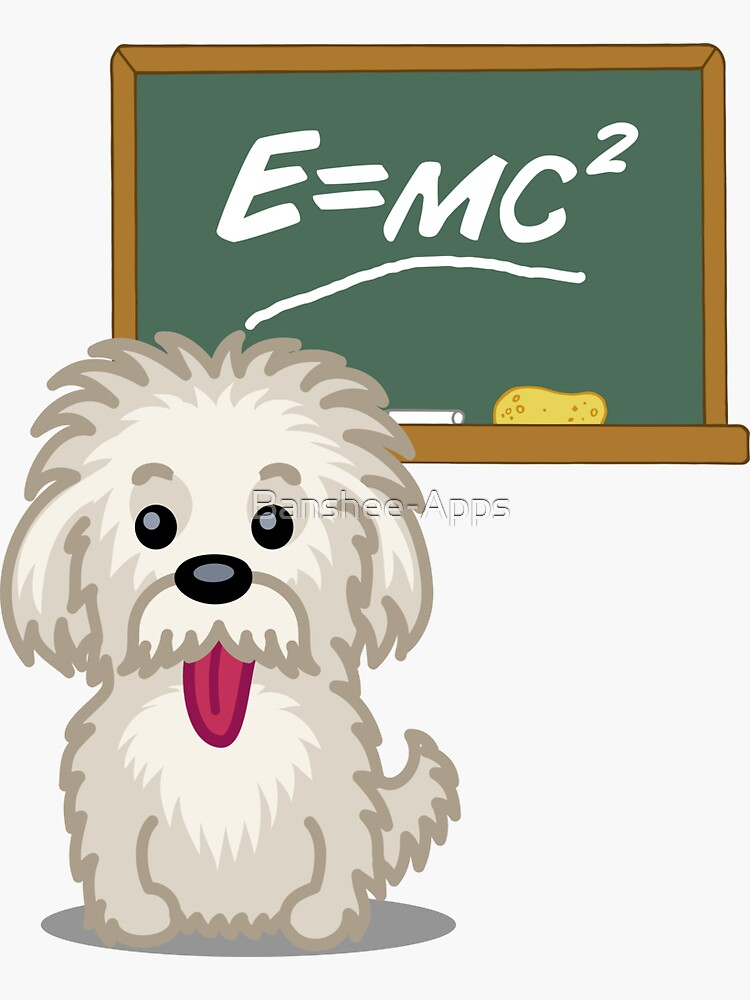 Maths Equation Einstein Shitsiu dog tshirt - Dog Gifts for Shihtzu and Maltese Dog Lovers by Banshee-Apps