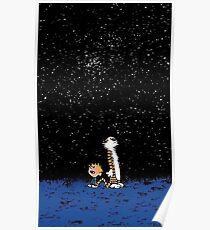 im Weltraum Poster