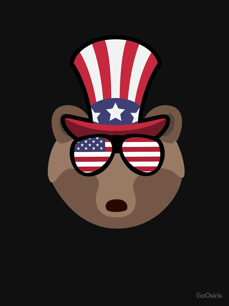 Bear Happy 4th Of July de GoOsiris