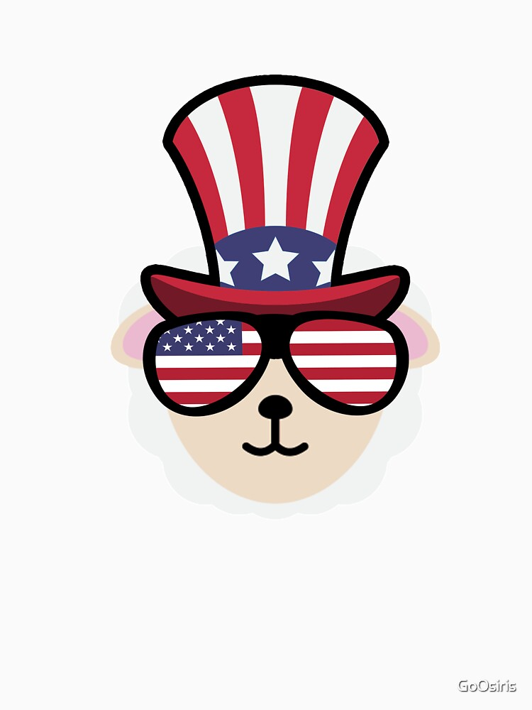 Sheep Happy 4th Of July de GoOsiris