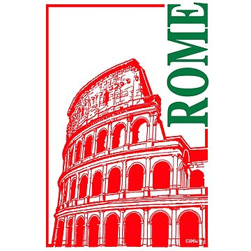 Rome, Italy Colosseum by NewSignCreation