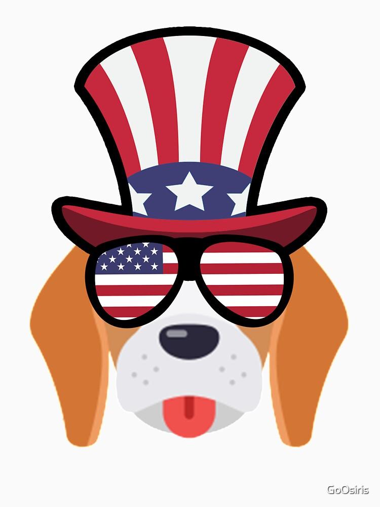 Dog Happy 4th Of July de GoOsiris