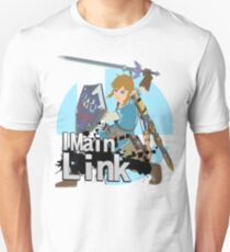 Super Smash Bros. Ultimate - I Main Link Unisex T-Shirt
