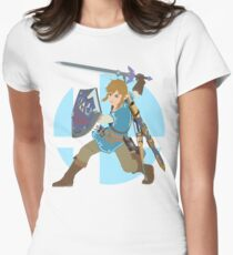 Super Smash Bros. Ultimate - Link Women's Fitted T-Shirt