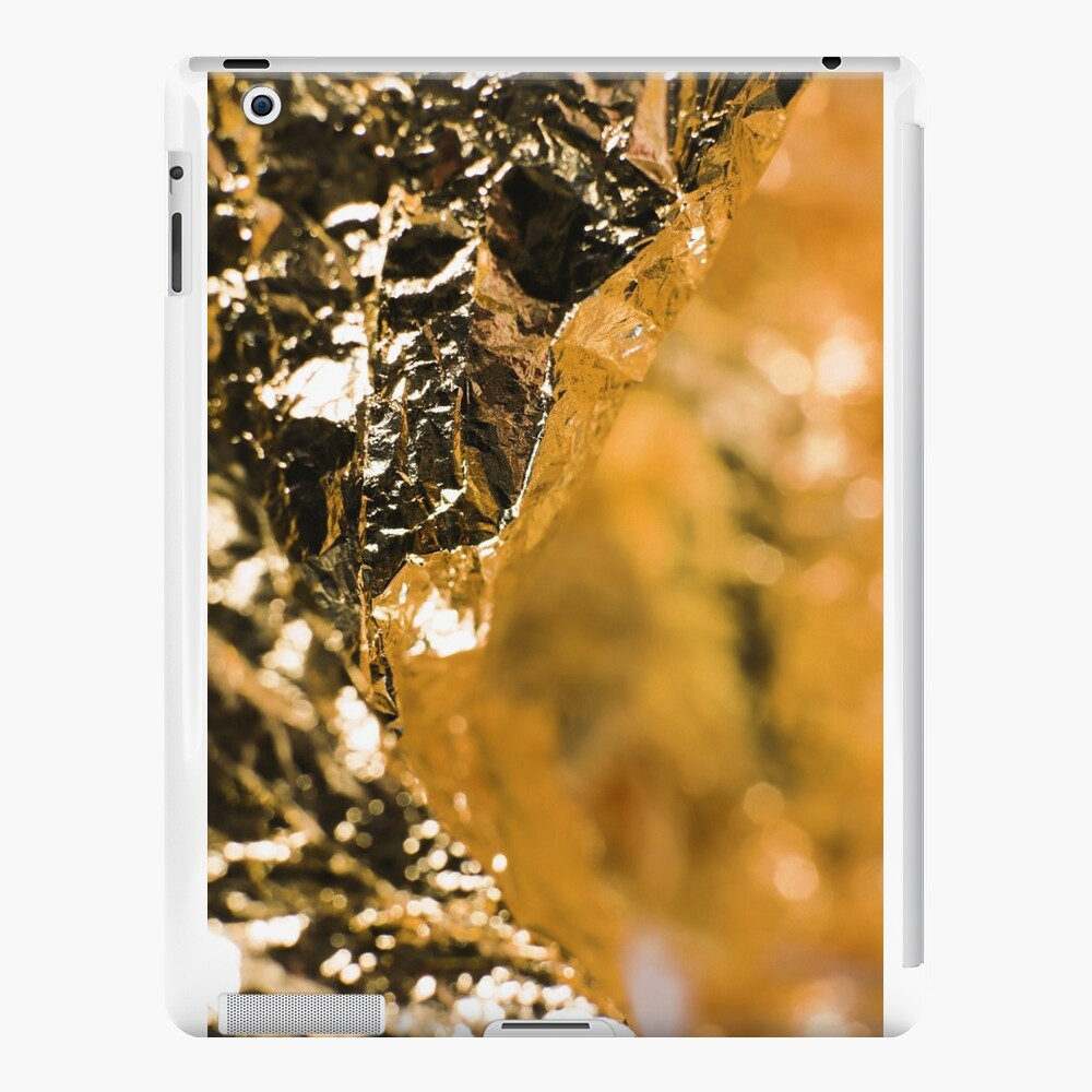 Goldie Seven Foil Gesicht iPad-Hüllen & Klebefolien