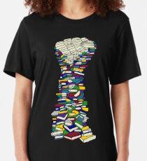 Wissen ist Macht Slim Fit T-Shirt