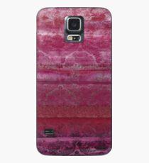 Textural Pink Case/Skin for Samsung Galaxy