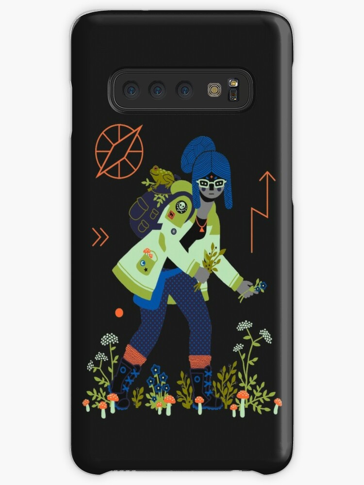 'Witch Series: Plants and Herbs' Case/Skin for Samsung Galaxy by Camille  Chew