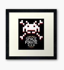 Space Pirate Framed Print