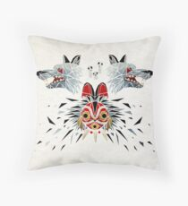 mononoke princess Throw Pillow