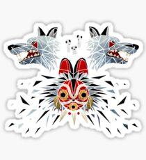mononoke princess Sticker