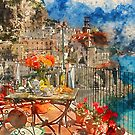 Amalfi, Italy by Andrea Mazzocchetti