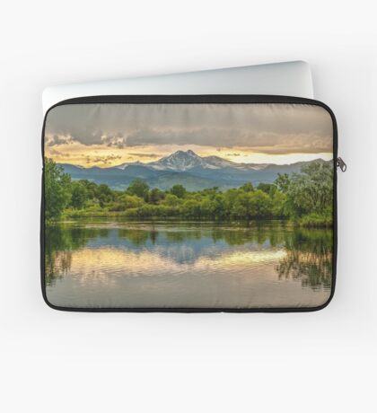 Golden Ponds Reflections - This Is A New Image Laptop Sleeve