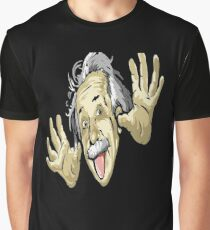 famous Einstein Picture Graphic T-Shirt
