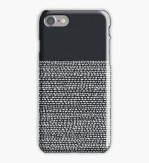 Riverside Black iPhone Case/Skin