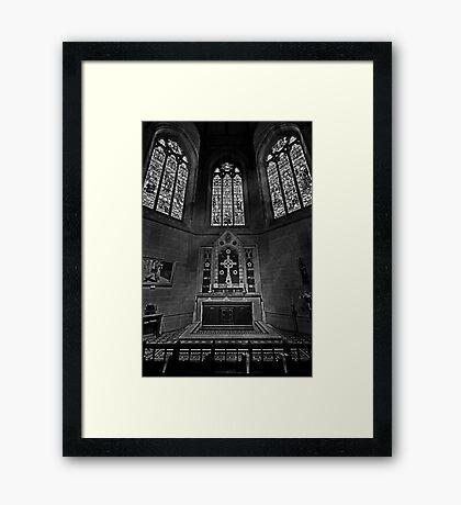 The Lady Chapel Framed Print
