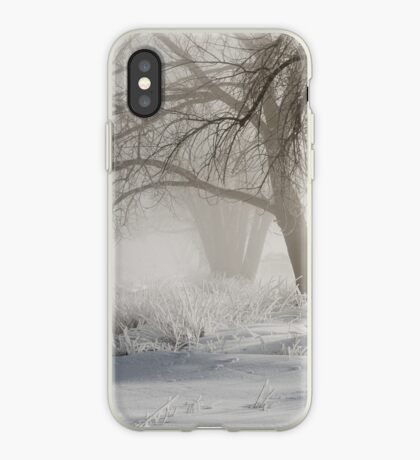 Etched By Snow - Sawhill Carvings iPhone Case