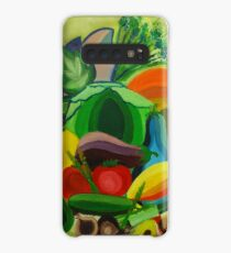 Funda/vinilo para Samsung Galaxy Vegetables