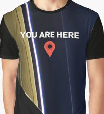 You are here - Pale Blue Dot Graphic T-Shirt