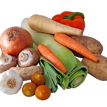 Fresh Vegetable Selection by MarkUK97