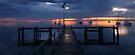 A Winter's Dawn on the Pier, Victoria, Australia by Michael Boniwell