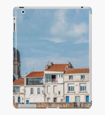Houses along the sea in La Rochelle iPad Case/Skin