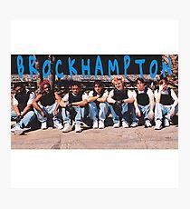 Brockhampton Boyband 4 Photographic Print
