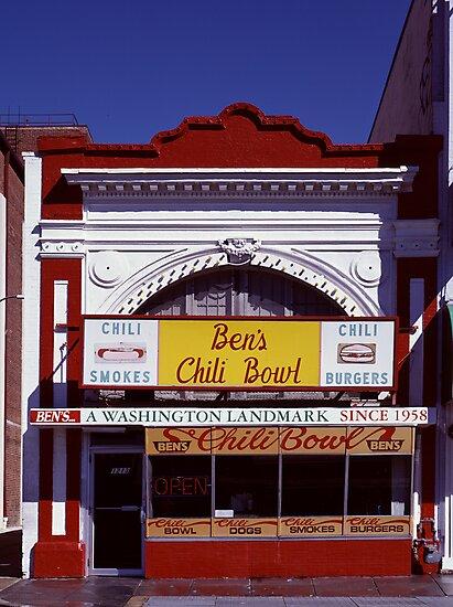 Ben's Chili Bowl, Washington, D.C. by Carol M.  Highsmith