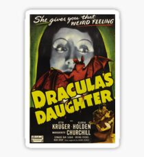 Daughter of Dracula Sticker