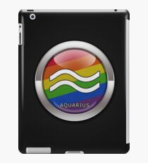 Rainbow Aquarius iPad Case/Skin