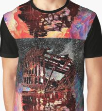 An Abstracted Peter Iredale Graphic T-Shirt