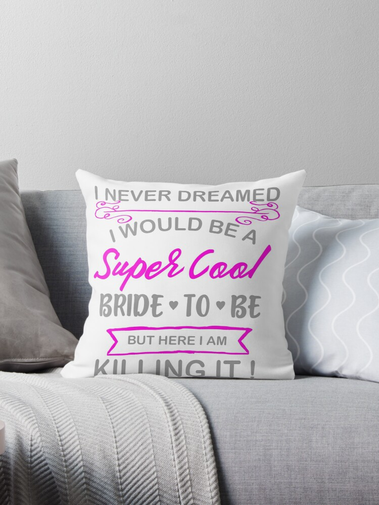 Super Cool Bride to Be Funny Bachelorette by LarkDesigns